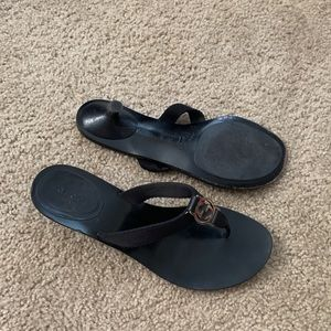 Gucci Shoes - Gucci Black Heel Sandals